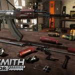 Image for the Tweet beginning: Gunsmith Simulator - inspect weapons