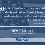Image for the Tweet beginning: Happy #MemorialDay! Thank you to