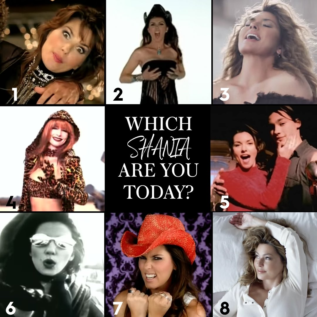 I'm feeling very 'unimpressed Shania' today, how about you? 😂