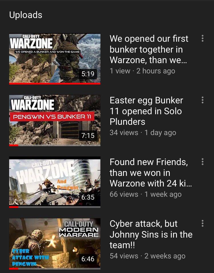 And yet here is another video! We got lucky in our match. It was insane😉🐧 Link to my latest video:   #Mixer #gamers #smallstreamer #SmallBusiness #YouTube #Warzone #MondayMotivation