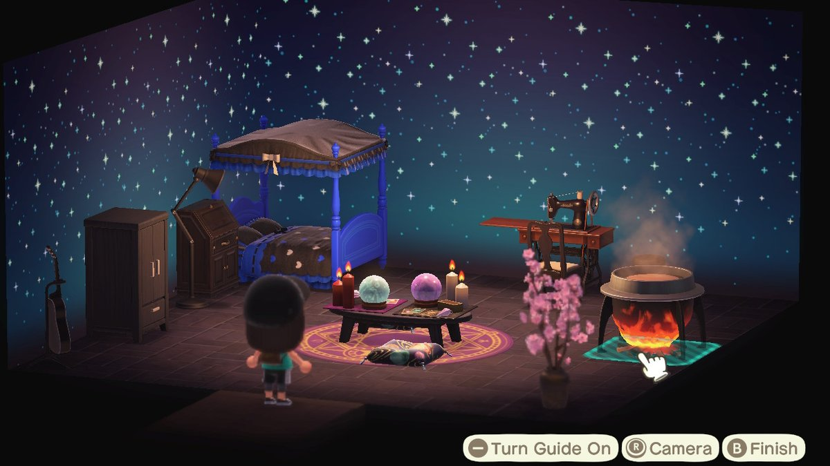 Witchy bedroom ideas #AnimalCrossing #ACNH #NintendoSwitchpic.twitter.com/KPlGVIq6U5