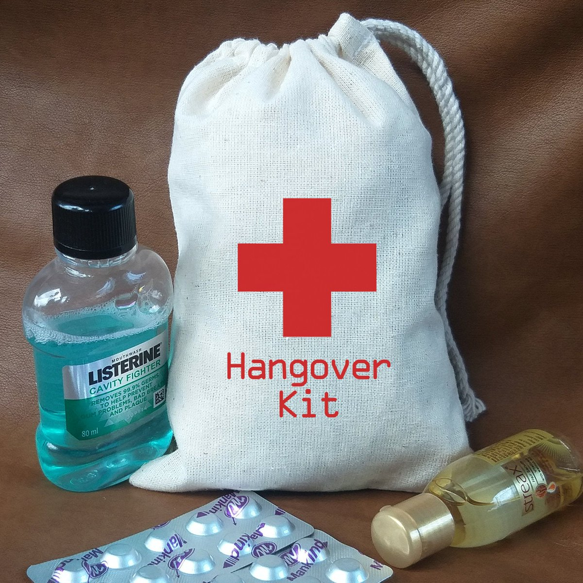 Excited to share the latest addition to my #etsy shop: Hangover kit - Hangover Relief Kit - Hangover Kit Party Favors - Personalized Hangover Kit - Survival Bag - Drawstring Bags-Hen Party Bags  #black #white #hangoverkit #recoverykitbags #partyf