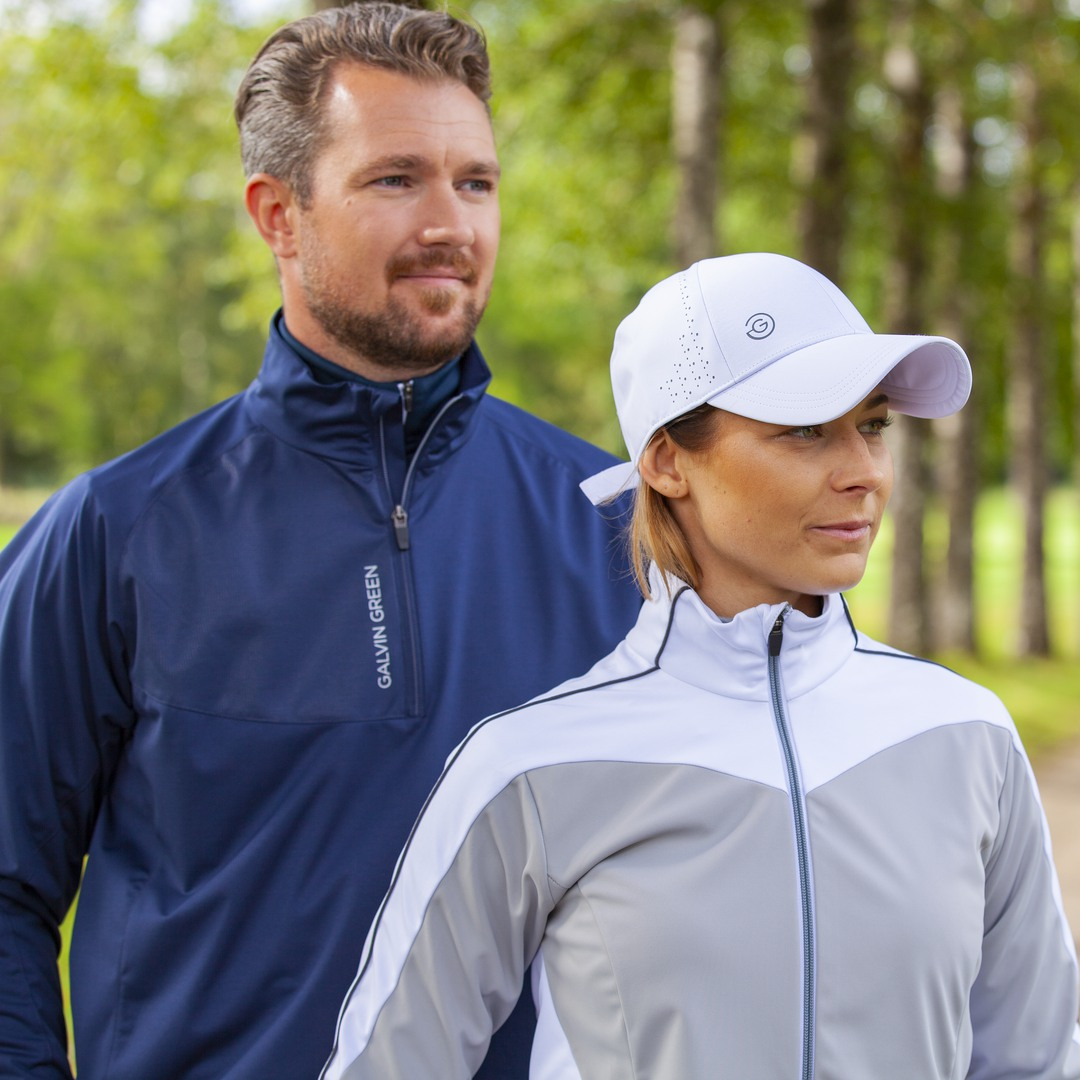 Explore LINCOLN and LESLIE - The jackets to wear 95 of out of 100 rounds 🏆🏌️♀️🏌🏽♂️ Find out more about our INTERFACE-™ range 👉galvingreen.com