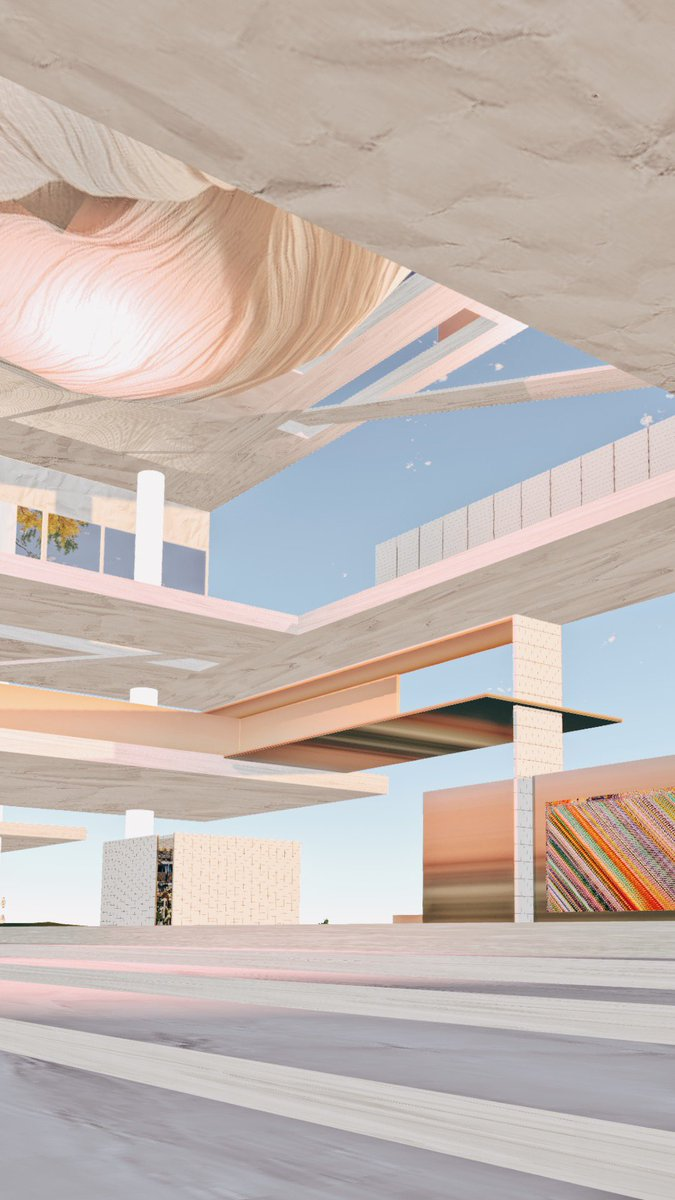 Capture of my design for @MuseumofCrypto in @SomniumSpace #art #design #VRpic.twitter.com/eejLX5xSrN