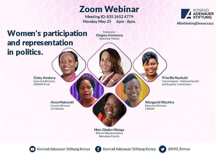 Join the Webinar, or follow the series of tweets on the hashtag #RethinkingDemocracy