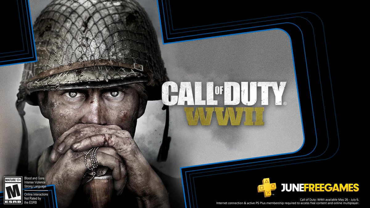 Call of Duty: WWII is available now for FREE with PlayStation Plus on PlayStation 4.   Visit the PlayStation Store now to download and play. https://t.co/NW07GBR71A https://t.co/mOjGD17oIz