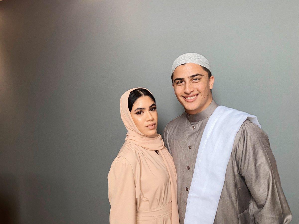 First Eid as a married couple ❤️ #EidMubarak