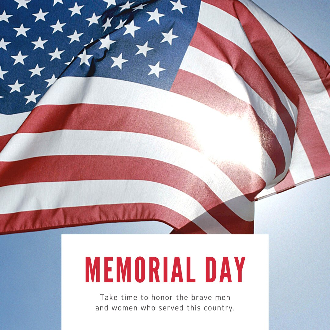 Happy Memorial Day! We remember those who made the ultimate sacrifice for our country. We are CLOSED today but back open tomorrow 2-9 PM for take out and limited patio seating. Give us a call for take out (860) 535-2333! Enjoy your day!pic.twitter.com/4bgs12LZuk