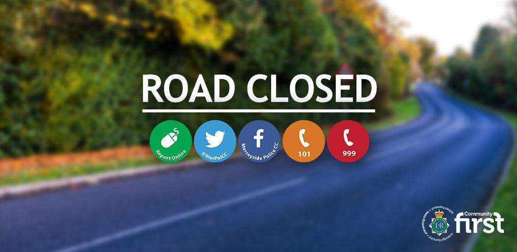 Motorists please be aware of road closures in place on Watery Lane in St Helens between junctions with Worsley Brow and Berrys Lane. This is due to a hole in the road causing traffic issues. Please avoid the area and plan your journeys accordingly.