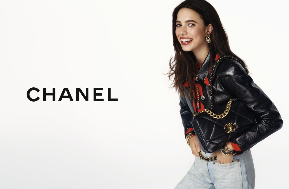 The CHANEL 19 bag — actress Margaret Qualley stars in the latest campaign imagined by Sofia Coppola and photographed by Steven Meisel. #HandbagCHANEL19 See more on