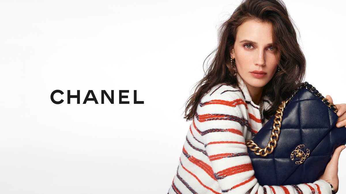 The CHANEL 19 bag — actress Marine Vacth stars in the latest campaign imagined by Sofia Coppola and photographed by Steven Meisel.  #HandbagCHANEL19 See more on