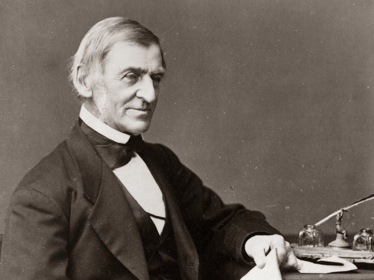 """It is easy in the world to live after the world's opinion; it is easy in solitude to live after our own; but the great man is he who in the midst of the crowd keeps with perfect sweetness the independence of solitude."" ― Ralph Waldo Emerson, who was born #OTD in 1803 https://t.co/GNdmUijAIZ"