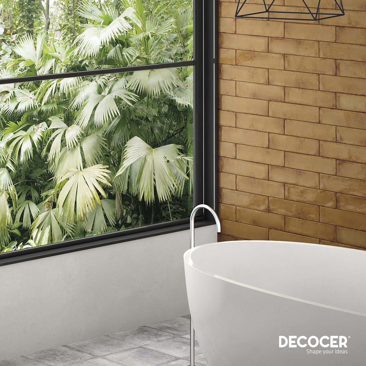 Finished with #reactiveglaze, the tiles of the #Granada collection acquire an intense and exotic appearance typical of the hottest regions of the planet. Each piece contains unique nuances that give it a special touch, achieving an amazing look throughout. #Decocer pic.twitter.com/7fMJbT5ZyA
