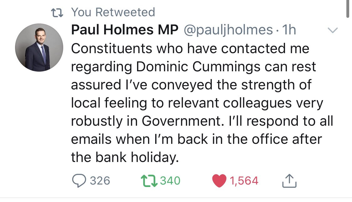 They're even using the same script. Coordinated resistance? @pauljholmes & @JEGullis 👇