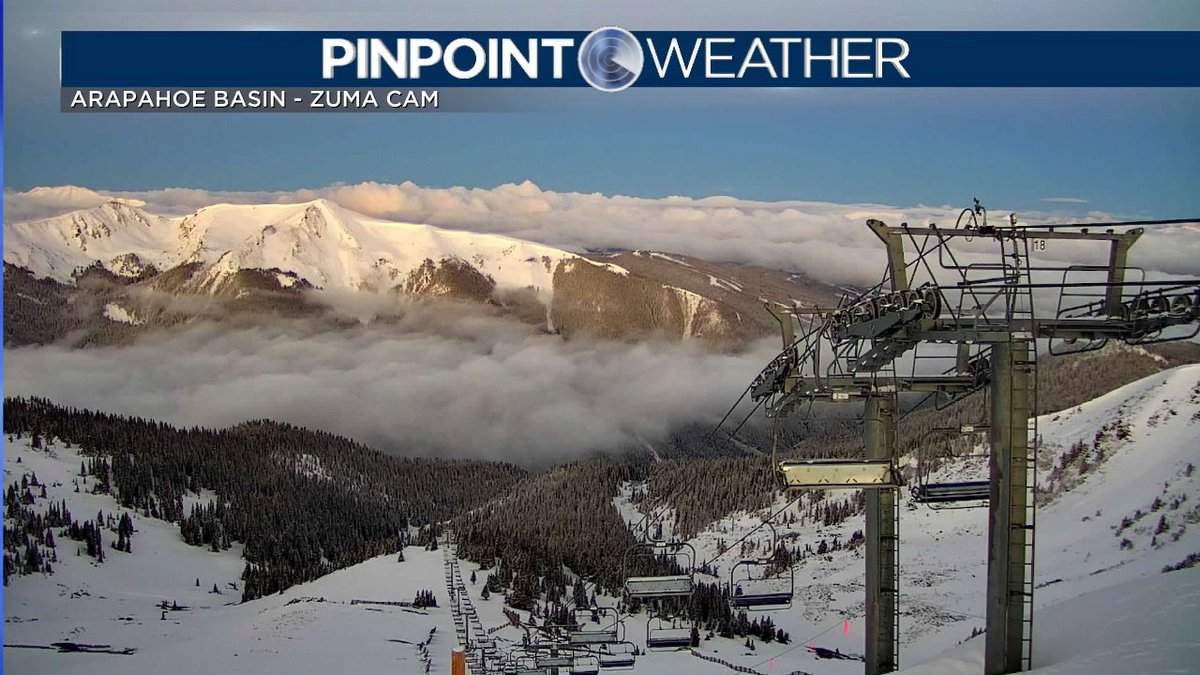 "DENVER -- While the Metro region got some welcome rain yesterday, the High Country got snow! A-Basin, which re-opens Wednesday (on a reservation basis -- see their website for details), got 5""-10"" of snow. What a view! #SpringSkiing #cowx #FOX31"