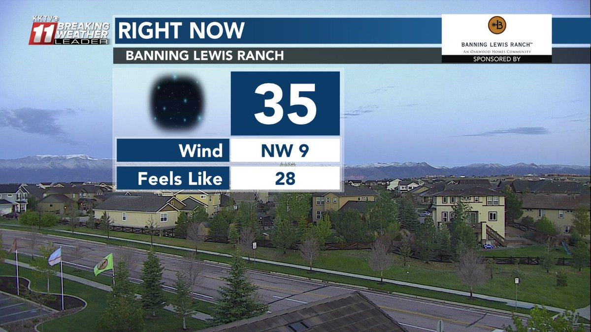I love seeing daylight this early. #COwx