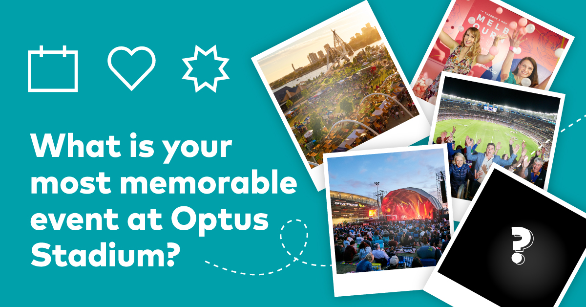 We've hosted a range of diverse events here at Optus Stadium...each designed to leave our WA fans with long-lasting memories...what's your MOST memorable event and why? We know you've been to a few (and boy do we miss you) 😉 https://t.co/pC6wJG4M38
