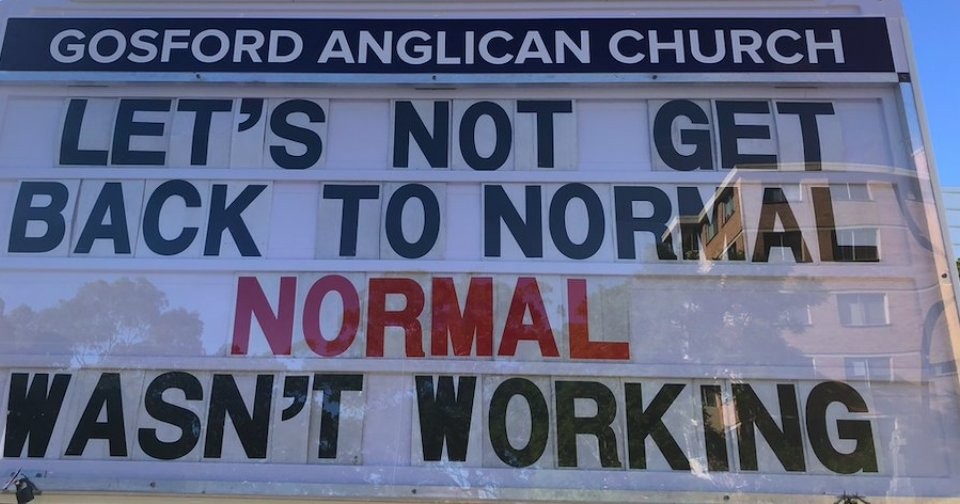 Let's not get back to 'normal' it wasn't working #QandA