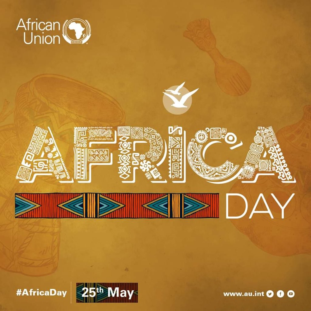 Happy #AfricaDay                                                  #AfricaDay2020 Feliz dia de #Africa pic.twitter.com/S9iOZP6VOY
