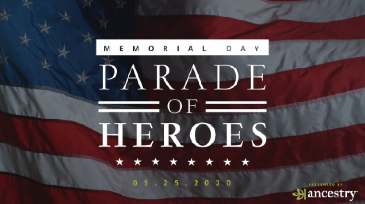 """Today, we will remember those who have sacrificed their lives for our freedom. Don't forget to tune in from home today to the Memorial Day """"Parade of Heroes,"""" presented by @Ancestry. Join us at 11 AM ET on Facebook here:  #RememberAtHome"""