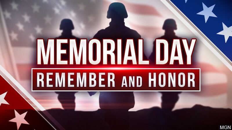 For all who have sacrificed. #MemorialDay2020