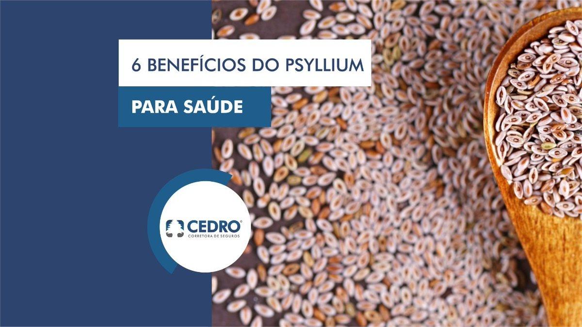 6 benefícios do Psyllium para saúde  Acesse:  https://bit.ly/psyllium-beneficios…  O blog da Corretora Cedro trás diariamente conteúdos importantes e atuais, aproveite e se inscreva.  #corretoracedro #vivamaiscomsaude #psyllium #beneficios #nutricaointeligente #comerbem #saudavelpic.twitter.com/VYIzvTr3Yr