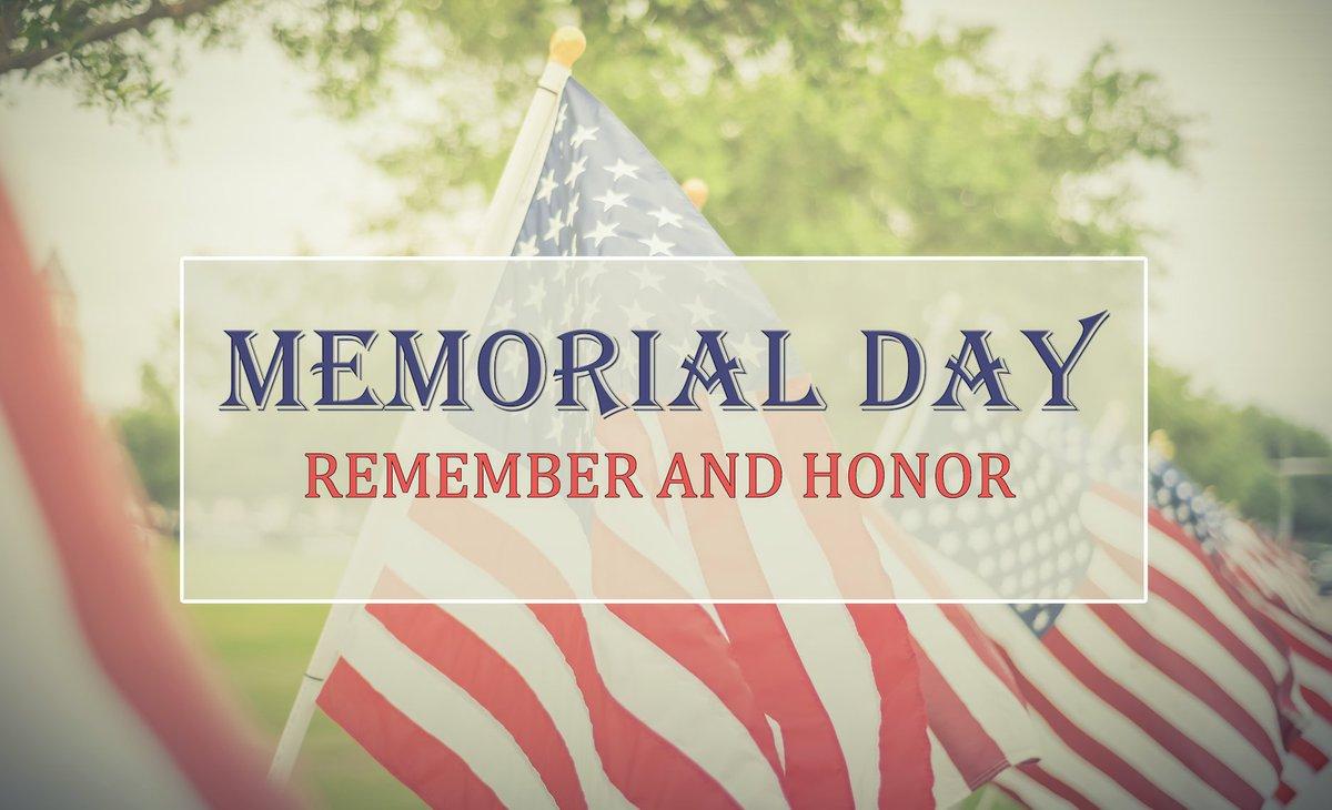 #MemorialDay2020