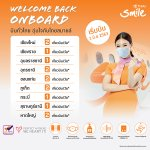 Image for the Tweet beginning: Thai Smile is ready to
