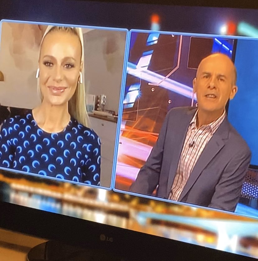 @doritkemsley1 popping up on Aussie tv on #HYBPA! #RHOBH pic.twitter.com/DTbiCJK1WT