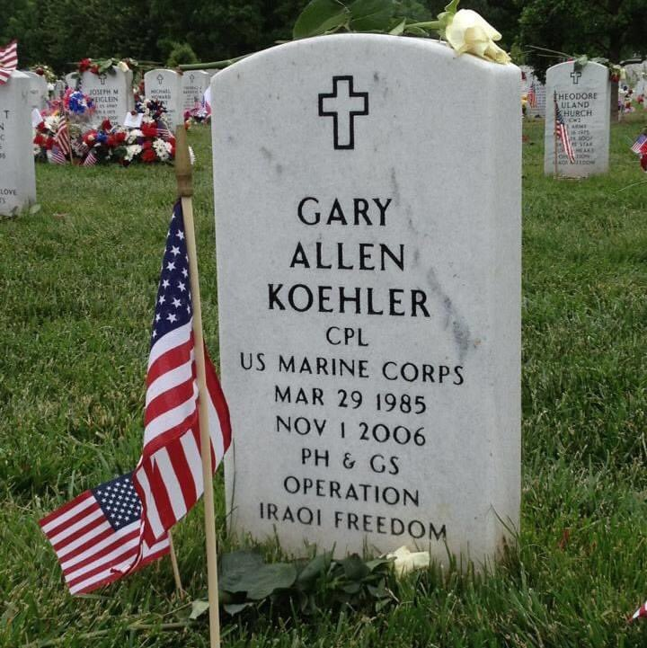 @ArlingtonNatl Former student, Gary Koehler, served two tours of duty, lost his life during the second one bravely fighting for our country. https://t.co/yo6PLrE2Gu