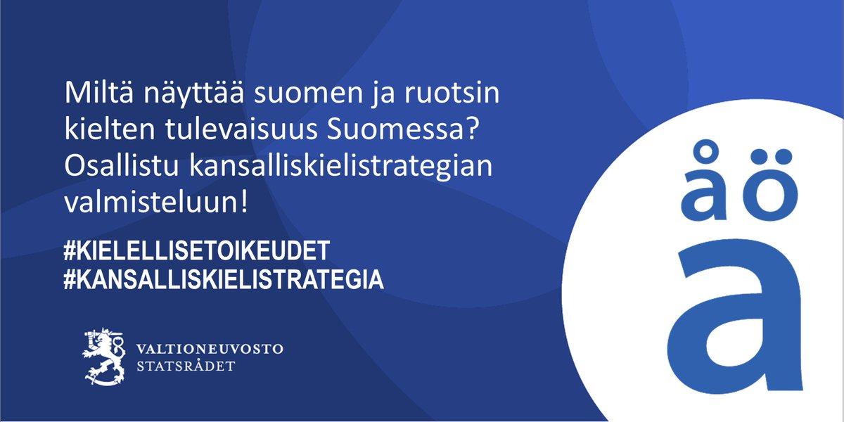 #Kansalliskielistrategia-asiaa baaritiskillä: haastateltavana kieliasiainneuvos Corinna Tammenmaa @oikeusmin. https://t.co/6fisllYwUx