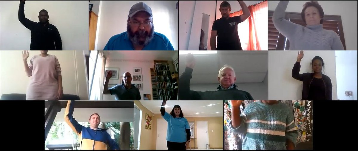 Fun, fun and lots more fun. The motto for today's team build was fun. Our 90 minute virtual team build program was a huge success today. http://www.sportsman.co.za  #virtualteam #funvirtualteambuilding #remoteteamwork #teambuildingpic.twitter.com/2LL5Qpco6j