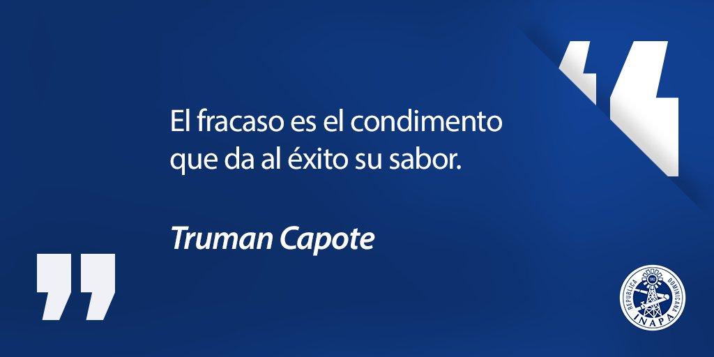¡BUENOS DÍAS ! Con estas sabias palabras del escritor Truman Capote iniciamos nuestra semana laboral en nuestra querida institución. #FelizLunes #inaperosdecorazon #frasesparacompartir #palabrasdesabiduríapic.twitter.com/rlhAmCGxC0