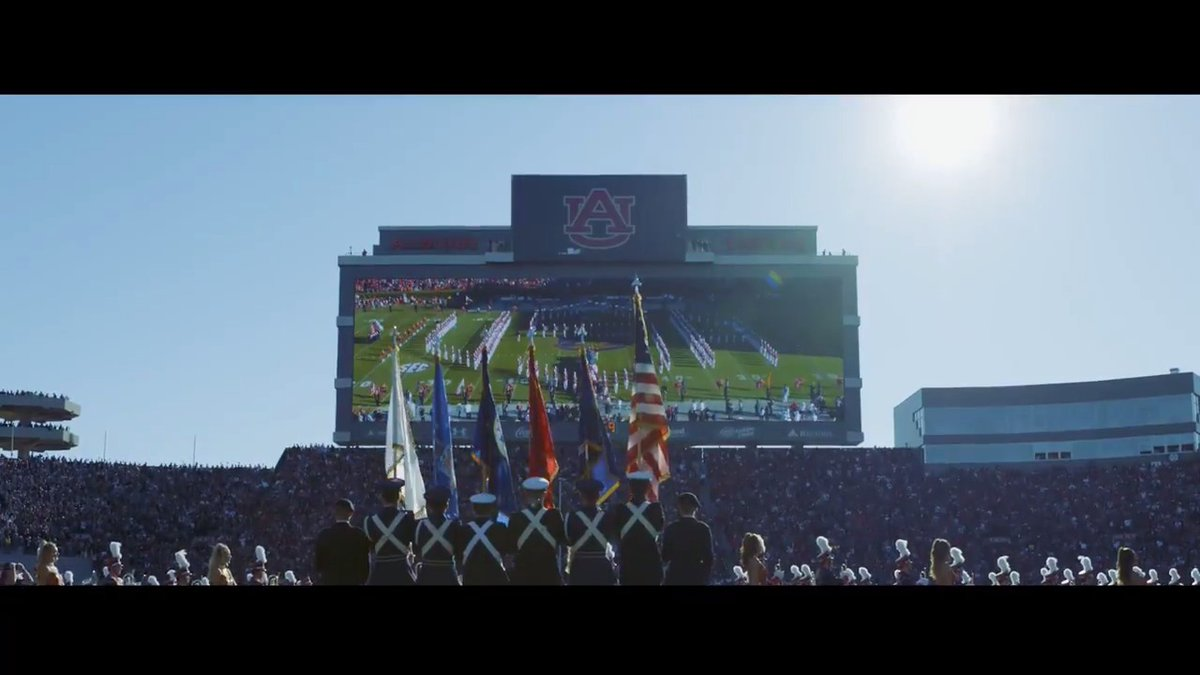 Watch: Auburn post moving tribute on Memorial Day