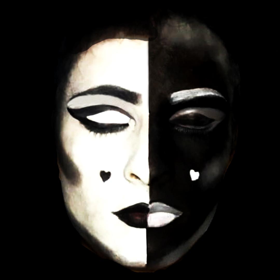 Hoje vamos alinhar o nosso ying com o nosso yang? Dessa vez a tour é com maquiagem preto e branco.  #maquiagem #pretoebranco #makeup #dragqueen #lgbt #gay #p&b #blackandwhite