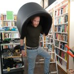 Image for the Tweet beginning: PPE Bookshop Edition.  #BobInHisLittleCave @gutterbookshop #SittingNoMore
