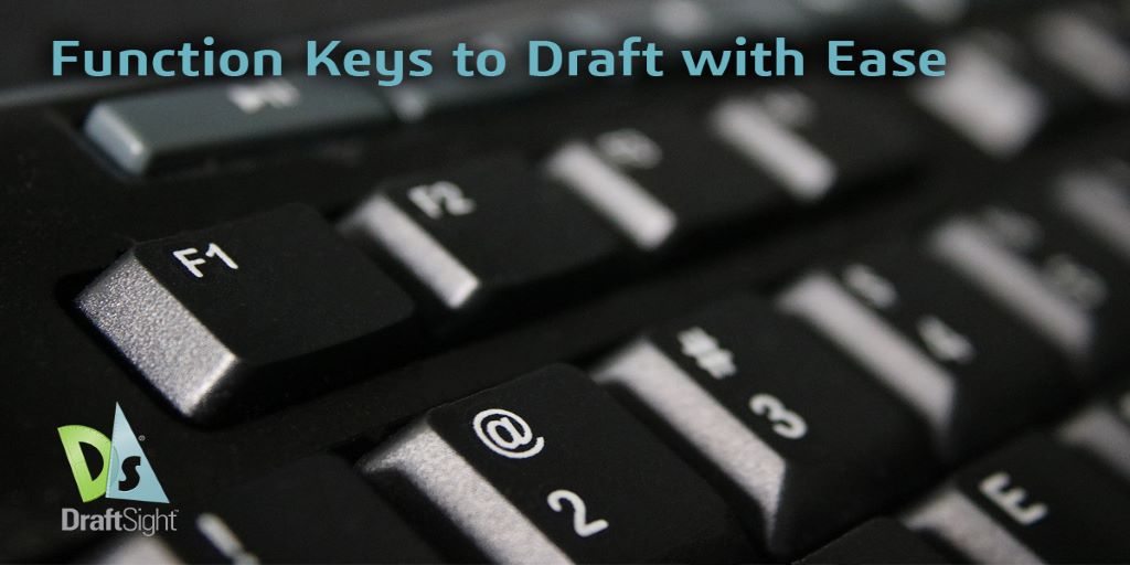 🔑 Try Function Keys to draft with ease! Today's #DraftSightLearningJourney Blog covers how to make your drawing experience more efficient and productive using shortcut keyboard commands! #CAD  📚 READ at