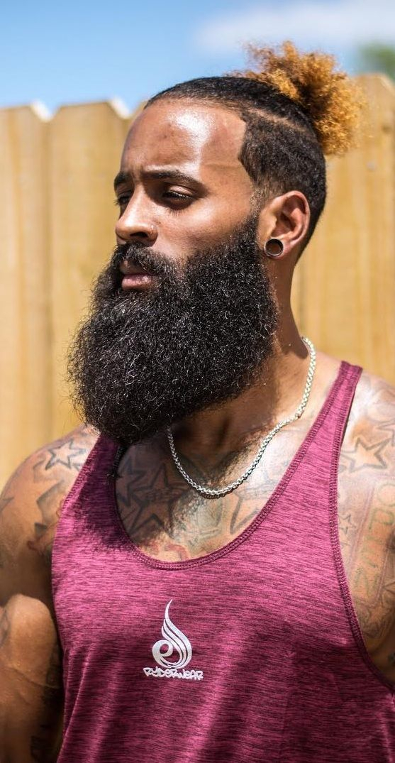 Fellas, it's on you to shape your beard style.⁠ ⁠ There are many different ways to go to ensure you're looking your best. ⁠ ⁠ For more beard products, check out our website at http://www.beardedmane.com  or simply click the link in our bio.⁠#beardedmen #beards #beardstylepic.twitter.com/gYhTHXgLEB