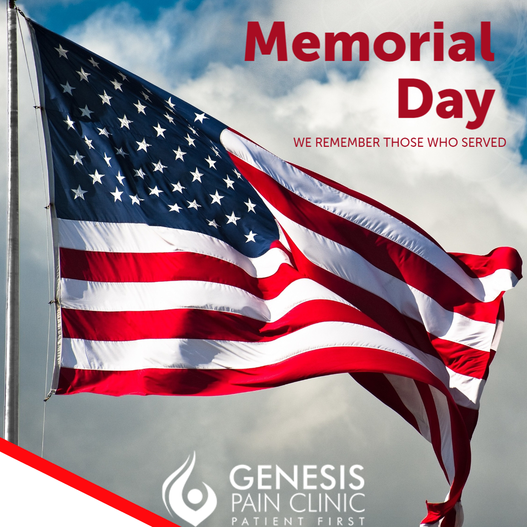 Remember and Honor those who served.   http://genesispain.com  #MemorialDay #Remember #Honor #headaches #migraines #pain #painmanagement #jointpain #backpain #neckpain #overlandpark #kansascity #paintreatmentpic.twitter.com/49HVNFa3tA