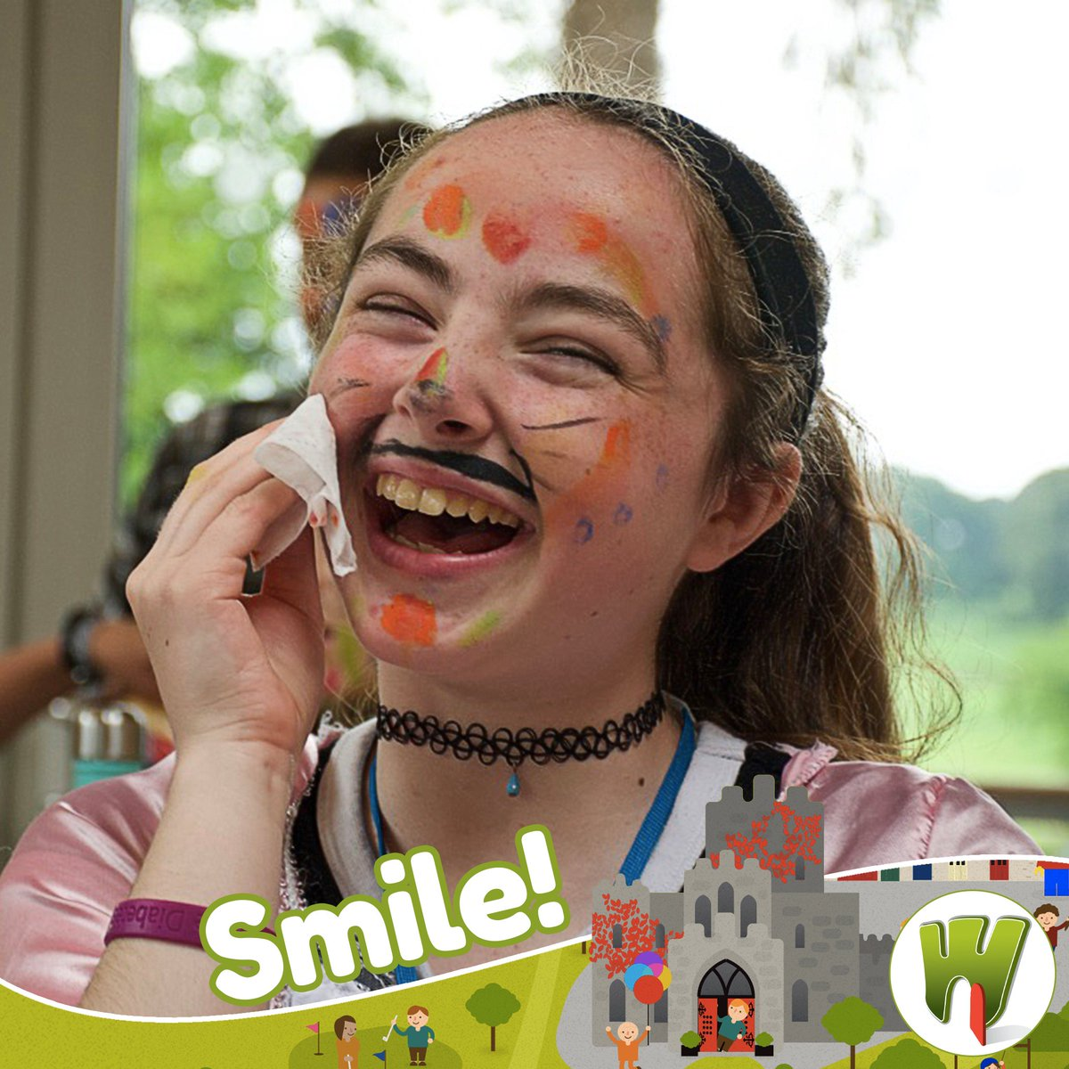 """""""All the statistics in the world can't measure the warmth of a smile.""""  #Barretstown #smile"""