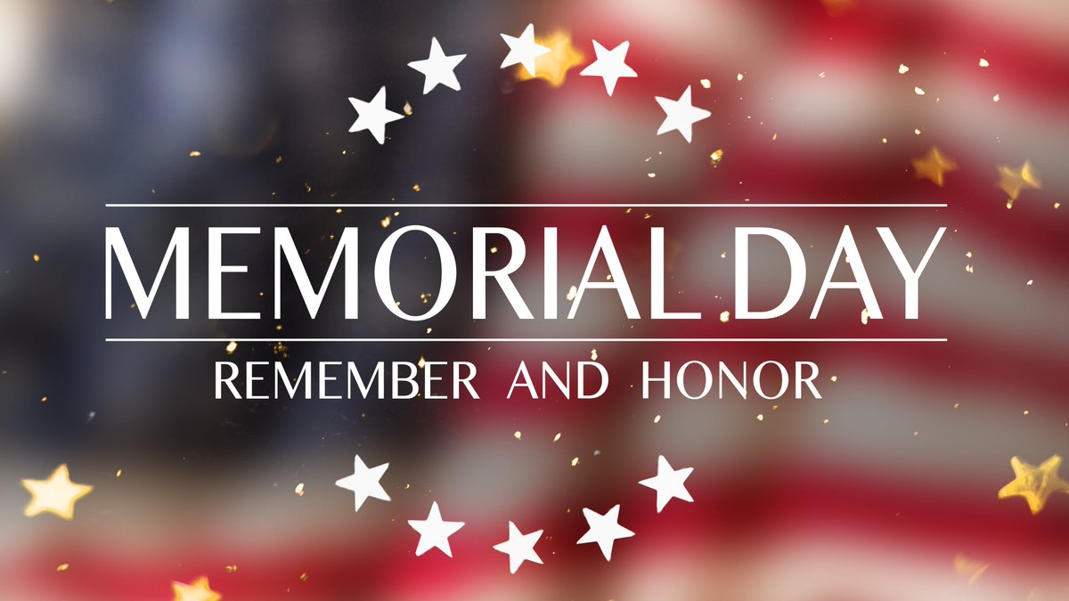 This #MemorialDay, we remember & honor all those who have given their lives in service to our country. Let us continue to keep their memories alive by honoring their sacrifices not only just today but every day! https://t.co/7qHQVZ9onp