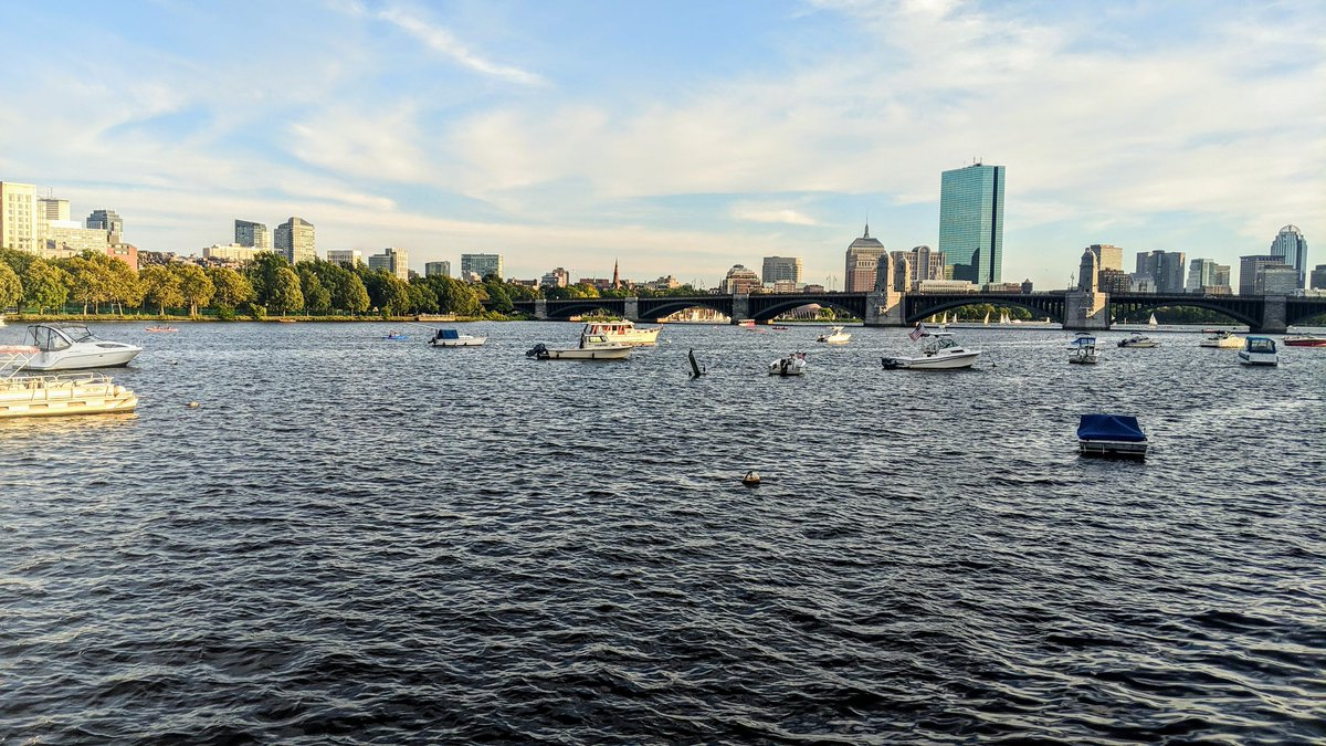 Charles River, September 2019  A year that was....  #charlesriver #boston #Cambridge  #fall2019