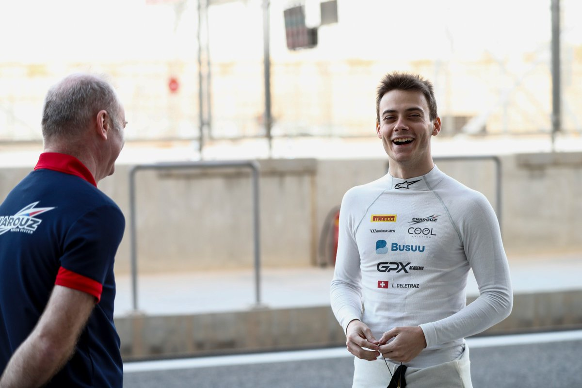 Podiums in 2018 and 2019 - now finally @LouisDeletraz hit the top step in Monaco! 💪  Thoughts from our winner 👉 https://t.co/ZqnO1LPTd9  #F2 #RaceAtHome https://t.co/2yQ7BsrGXa
