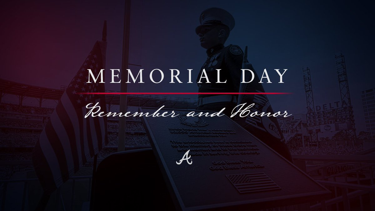 We remember & honor our fallen heroes today & everyday. We are forever grateful.