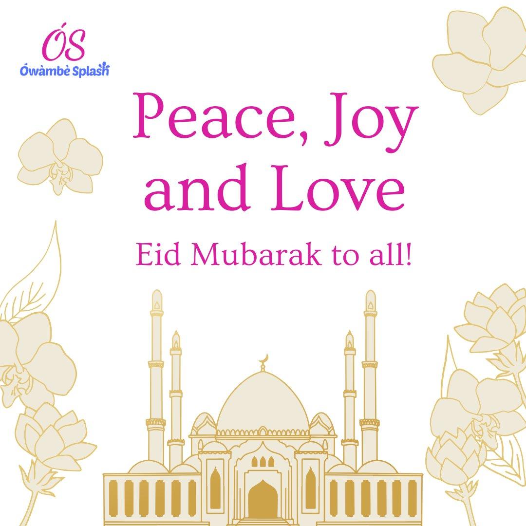 Happy Eid Mubarak! Warm wishes from Ówàmbè Splash.  Happy celebration Muslims!  #eidmubarak #happyeid#mondaymood #celebration #owambenaija #owambeafrica #owambeweek #memories #pictures #mood #eventsthatrock #eventlovers #owambesplash #owambesplashcommunitypic.twitter.com/XF1xa2Kg82