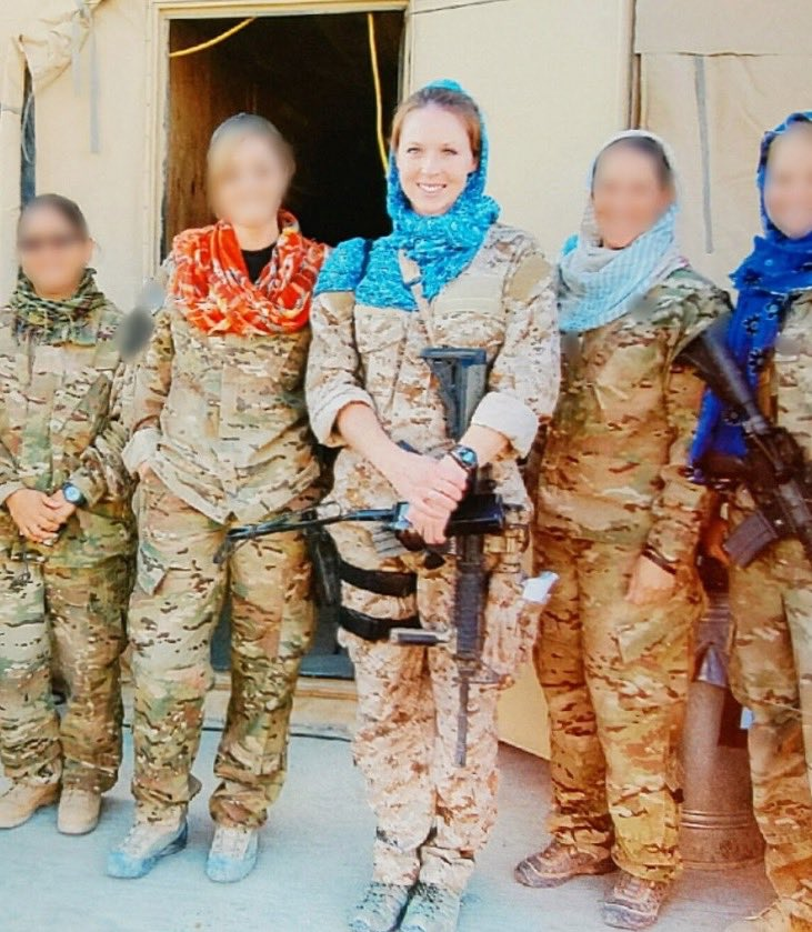This #MemorialDay I remember Navy Senior Chief Shannon Kent, killed by a suicide bomber in Syria, 2019. Kent -a mother of 2 & a member of our IW Community- spoke 7 languages, had multiple combat deployments w/ SEALs, survived cancer & was working towards a PhD. The best of us.