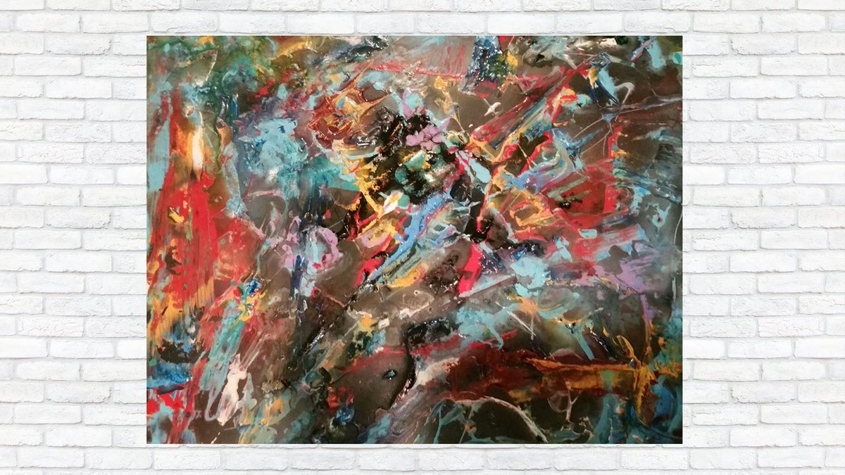 If you like colorful #abstract art, then you will love the vibrant paintings of #ARTDEX member artist Adam Lekki. Explore his #artwork here: https://www.artdex.com/pic.twitter.com/SIFViqzyQc