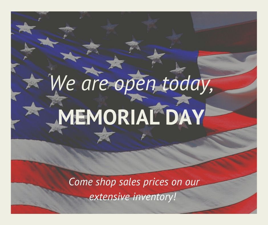 We are open today, 10am - 6pm! Come shop Memorial Day sales prices on our excellent #Honda inventory. pic.twitter.com/ktGPij4buJ