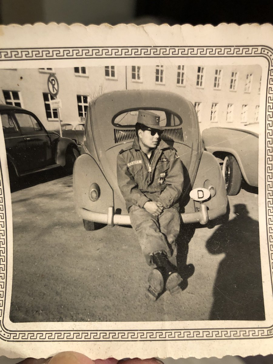 Happy Memorial Day to everyone. Wanted to share this photo of my grandfather in Germany 1957.                          Sgt.Major Joe D Castillo pic.twitter.com/ZhGi652CBw