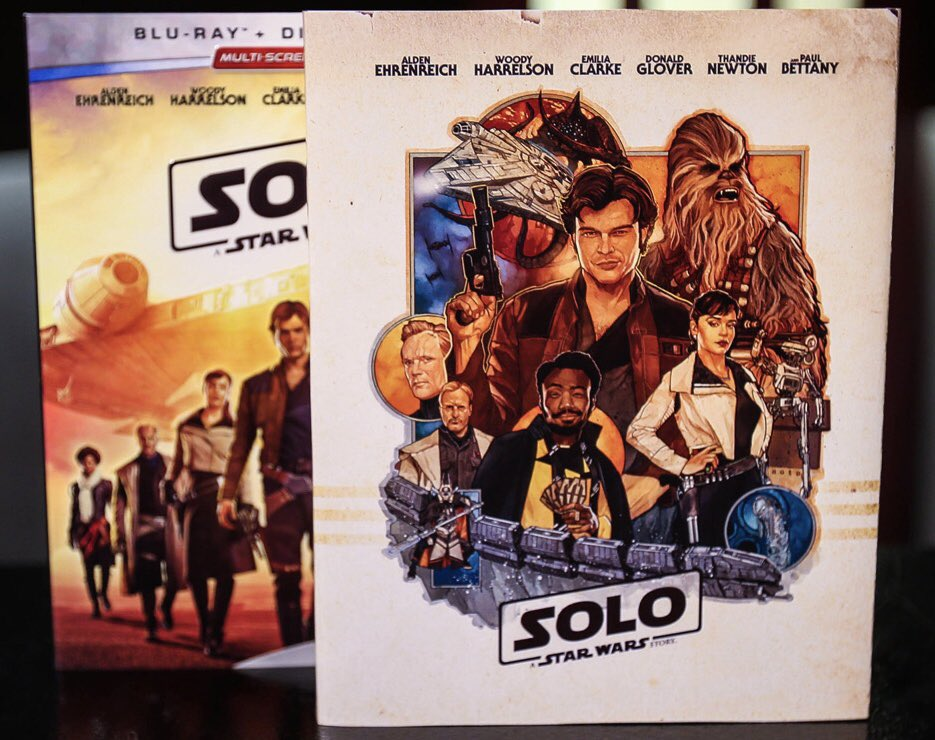 It's a #MondayMovieMorning ... 💫 Now Watching... #Solo #StarWars https://t.co/cIQI3PTRiY